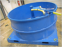 Custom Fabrication - Service Loop Carrier for the Oilfield Industry
