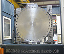 "Custom Large Component Machining - 60"" & 72"" Flanges"